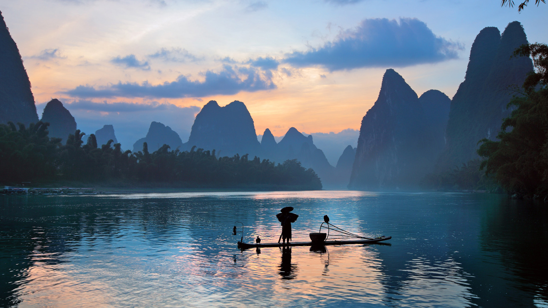 China Guilin Scenery wallpaper 1920x1080