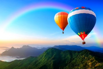 hot_air_balloon_rainbow_wallpaper
